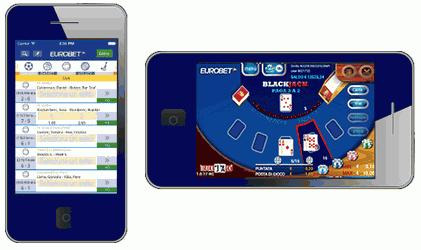 App Eurobet-Apple e Android