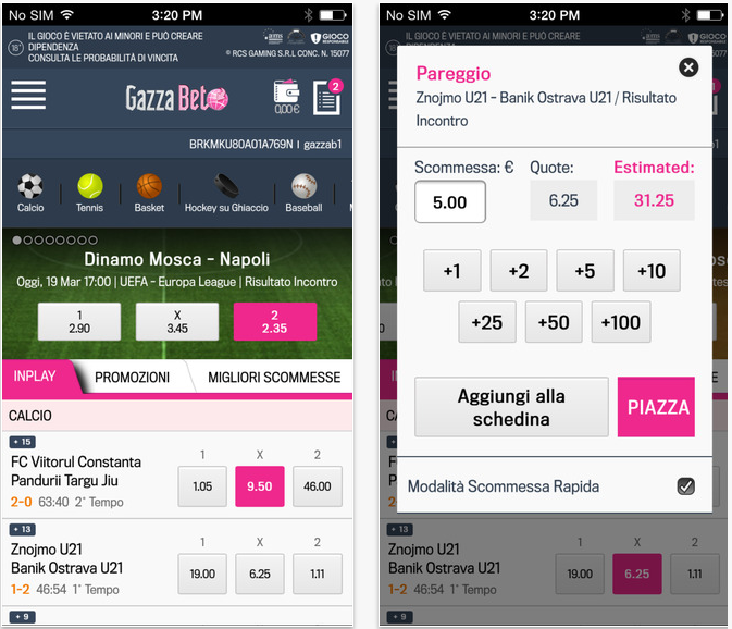 App GazzaBet